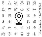 pin on line icon. universal set ...