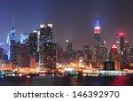 new york city manhattan midtown ... | Shutterstock . vector #146392970
