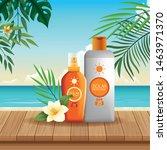 solar protection bottles set of ...   Shutterstock .eps vector #1463971370