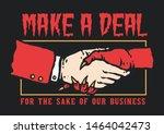 vector illustration of hand... | Shutterstock .eps vector #1464042473