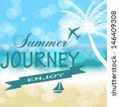 summer holidays vector...   Shutterstock .eps vector #146409308