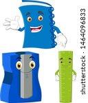 vector character of school items | Shutterstock .eps vector #1464096833