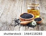 Black Cumin Oil With Seeds And...