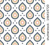 seamless vector art geometric... | Shutterstock .eps vector #146414720