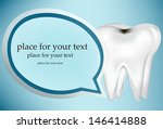 tooth design element. eps10... | Shutterstock .eps vector #146414888