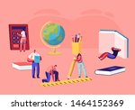 education concept  tiny male...   Shutterstock .eps vector #1464152369