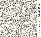 seamless pattern. irregular... | Shutterstock .eps vector #146415794