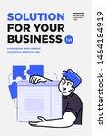 poster  flyer or banner design...   Shutterstock .eps vector #1464184919