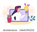 technical support concept. idea ...   Shutterstock .eps vector #1464194210