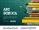 web page design template for... | Shutterstock .eps vector #1464218549