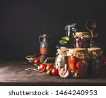 Vegetables And Fruits Canning....