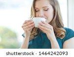 Woman Drinking Coffee....