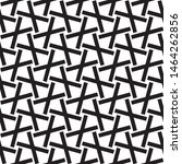 vector seamless black and white ... | Shutterstock .eps vector #1464262856
