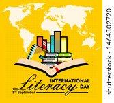international literacy day  8... | Shutterstock .eps vector #1464302720