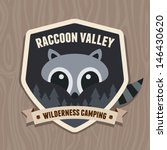 Outdoors Emblem Badge With...