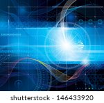 digital security concept.   for ... | Shutterstock . vector #146433920