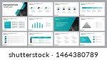 business presentation... | Shutterstock .eps vector #1464380789