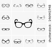 glasses | Shutterstock .eps vector #146441948