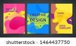 set of template design of...   Shutterstock .eps vector #1464437750
