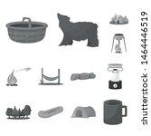 vector design of recreation and ... | Shutterstock .eps vector #1464446519