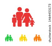 family icon vector. vector web... | Shutterstock .eps vector #1464453173