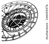 Ancient Astronomical Clock ...