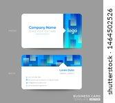 blue business card  membership... | Shutterstock .eps vector #1464502526