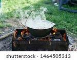 Nature Bonfire Food Picnic...