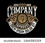 vintage logo. western style....   Shutterstock .eps vector #1464585359