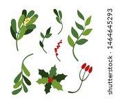 vector set of hand drawn...   Shutterstock .eps vector #1464645293