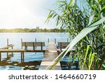 Idyllic View Of Havel River In...