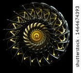 3d Render Of Abstract Spiral...