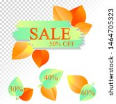 vector sale banners with color...