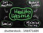 health concept handwritten with ...   Shutterstock . vector #146471684