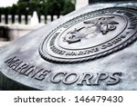 marine corps insignia at world... | Shutterstock . vector #146479430
