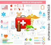 illustration of healthcare and... | Shutterstock .eps vector #146483618