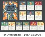 Awesome Fox Calendar For 2020...