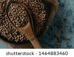 Lentil Beads. Lentil Grains In...