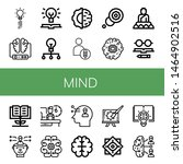 set of mind icons such as...   Shutterstock .eps vector #1464902516