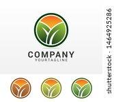 leaf creative concept logo... | Shutterstock .eps vector #1464925286