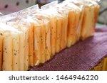 traditional thai dessert in... | Shutterstock . vector #1464946220