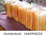 traditional thai dessert in... | Shutterstock . vector #1464946226