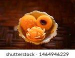 traditional thai dessert in... | Shutterstock . vector #1464946229