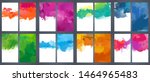 large pack set of bright vector ... | Shutterstock .eps vector #1464965483