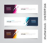 vector abstract banner design... | Shutterstock .eps vector #1465009166