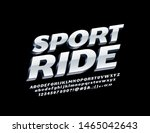 vector modern sign sport ride... | Shutterstock .eps vector #1465042643