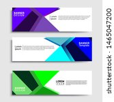 sets of banner abstract...   Shutterstock .eps vector #1465047200