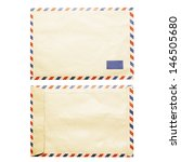 Vintage Air Mail Envelope Fron...