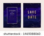 wedding invitation  thank you... | Shutterstock .eps vector #1465088060