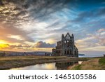 Whitby Abbey Evening Light  ...